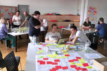 Berater im Konzeptionsworkshop